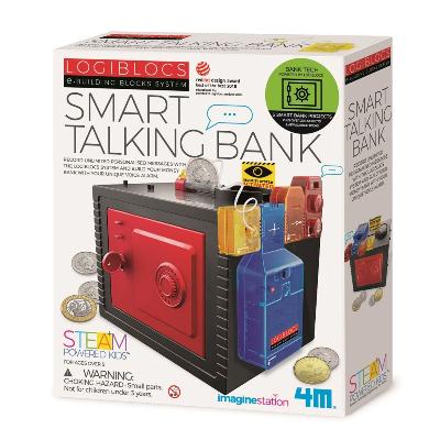 4M Logiblocs - Smart Talking Bank
