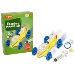Magnoidz Pressure Powered Car Science Kit