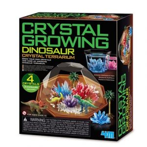 4M Crystal Growing - Dinosaurs Crystal Terrarium