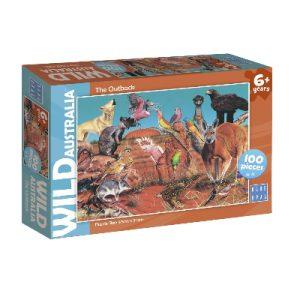 Blue Opal- Wild Australia The Outback 100pc
