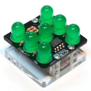 Dice with LEDS - Learn to Solder Kit