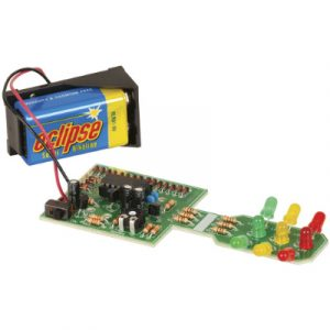 Duinotech Build a 3D Traffic Lights - Learn to Solder Kit