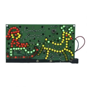 Duinotech Build a Riding Santa - Learn to Solder Kit
