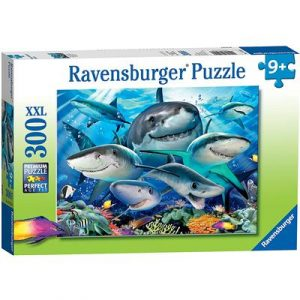 Ravensburger - Smiling Sharks Puzzle 300 pieces