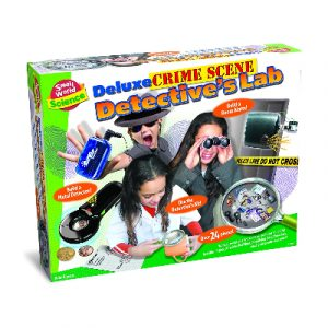 Small World Science Crime Scene Detectives Lab 3 in 1