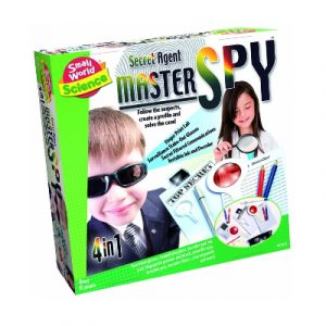 Small World Science Secret Agent Master Spy 4 in 1