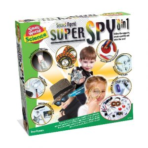 Small World Science Secret Agent Super Spy 8 in 1
