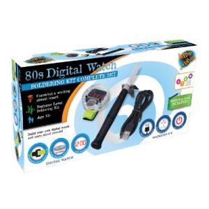 The DIY 80 Digital watch Combo