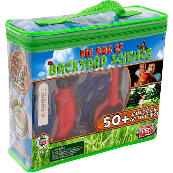 Big Bag of Backyard Science for ENCOURAGE YOUR CHILD'S CREATIVITY