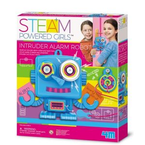 4M Steam Powered Kids - Inruder Alarm Robot