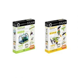 Academy Of Steam Multipack - Botanic Lab And Solar Plane Stem Construction Set
