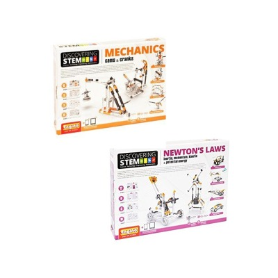 Stem Mechanics Multipack - Cams & Cranks And Newton's Laws Stem Construction Set