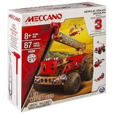 Meccano 3 Model Set - Fire Engine