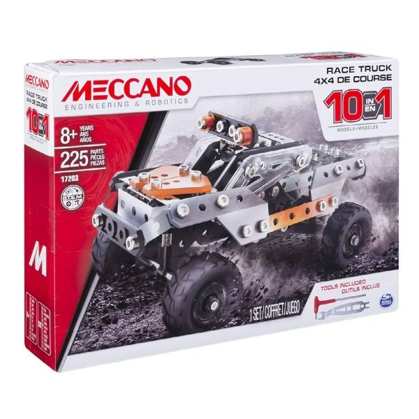 Meccano 10 Model Motorized Truck