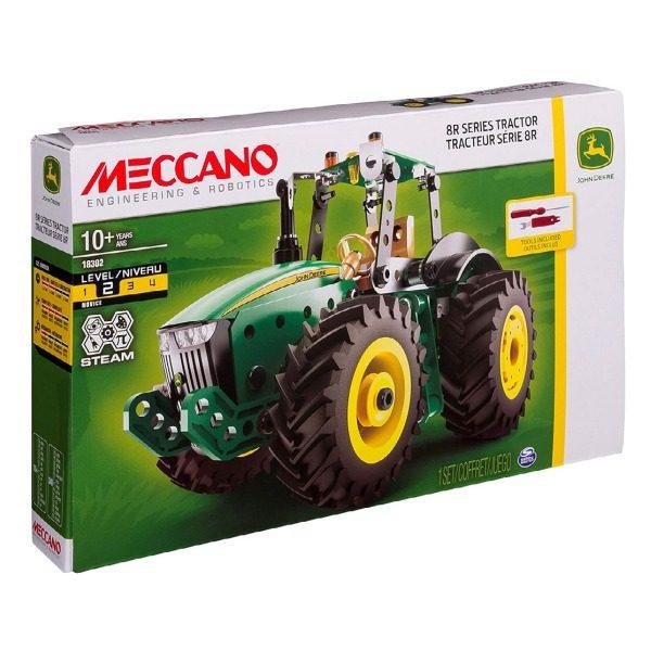 Meccano John Deere 8R Tractor