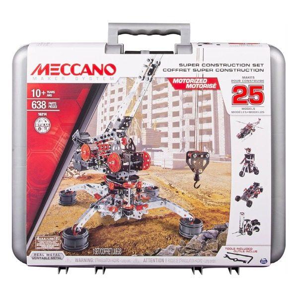 Meccano Super Construction Set in case