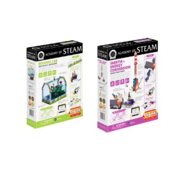 Academy Of Steam Multipack - Botanic Lab And Inertia Stem Construction Set