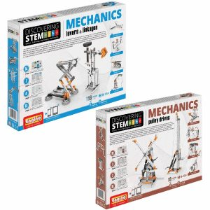 STEM Mechanics Multipack - Levers & Linkages And Pulley Drives Stem Construction Set