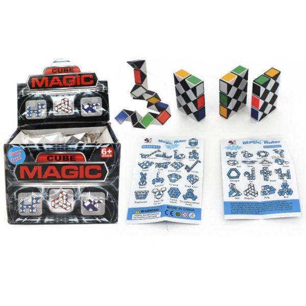 Magic Cube Snake Puzzle (23CM)