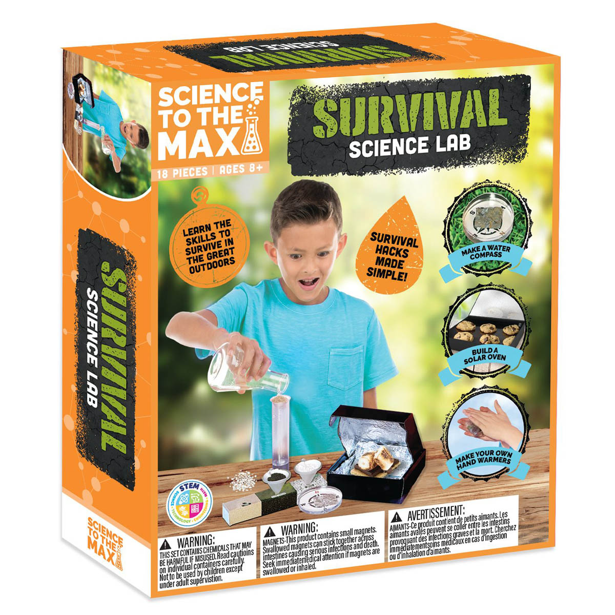 Science To The Max – Survival Science