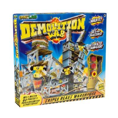 SmartLab - Demolition Lab: Triple Blast Warehouse