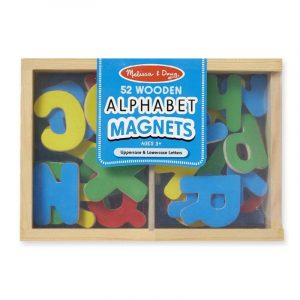 Melissa & Doug - Alphabet Magnets In A Box of 52
