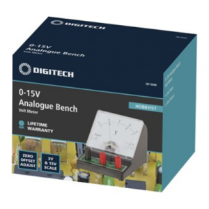 Protech Analogue Bench Voltmeter