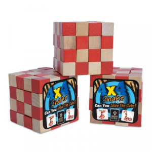 Smart Brain 4 x 4 Snake Cube Puzzle