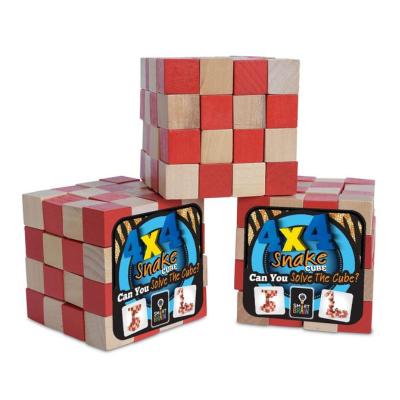 Smart Brain 4 x 4 Snake Cube Puzzle