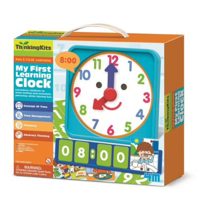 4M-Thinkingkits - My First Learning Clock