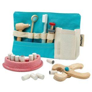 PlanToys - Dentist Set for Kids Learning