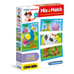 Young learners Mix and Match Brain Game