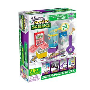 Super-Pi-Riffic Set 75+ Science Experiments - Illusionology Secrets Of Science That Work Like Magic