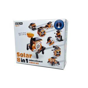 Johnco- 8 in1 Solar Educational Robot Kit