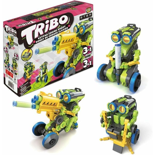 TRIBO 3in1 STEM Coding Kit with 182 Pieces