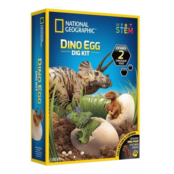 National Geographic Dino Egg Dig Kit