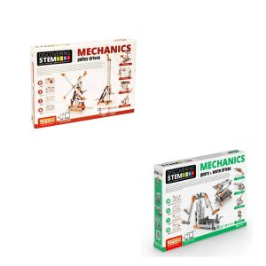 STEM Mechanics Multipack - Pulley Drives And Gears & Worm Drives Stem Construction Set