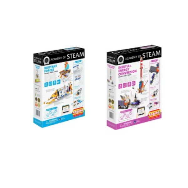 Academy Of Steam Multipack - Buoyant Forces And Inertia Buoyant Forces Stem Construction Set