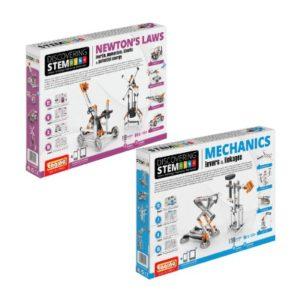 STEM Mechanics Multipack - Levers & Linkages And Newton's Laws Stem Construction Set