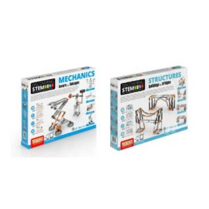 STEM Mechanics Multipack - Levers & Linkages And Stem Structures Stem Construction Building & Bridges Set
