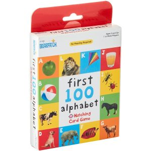 First 100 Matching Card Game - Animals