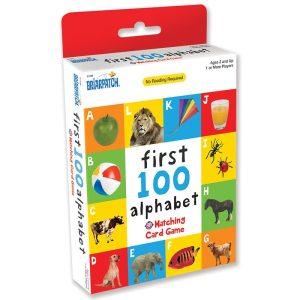 First 100 Matching Card Game - Alphabet